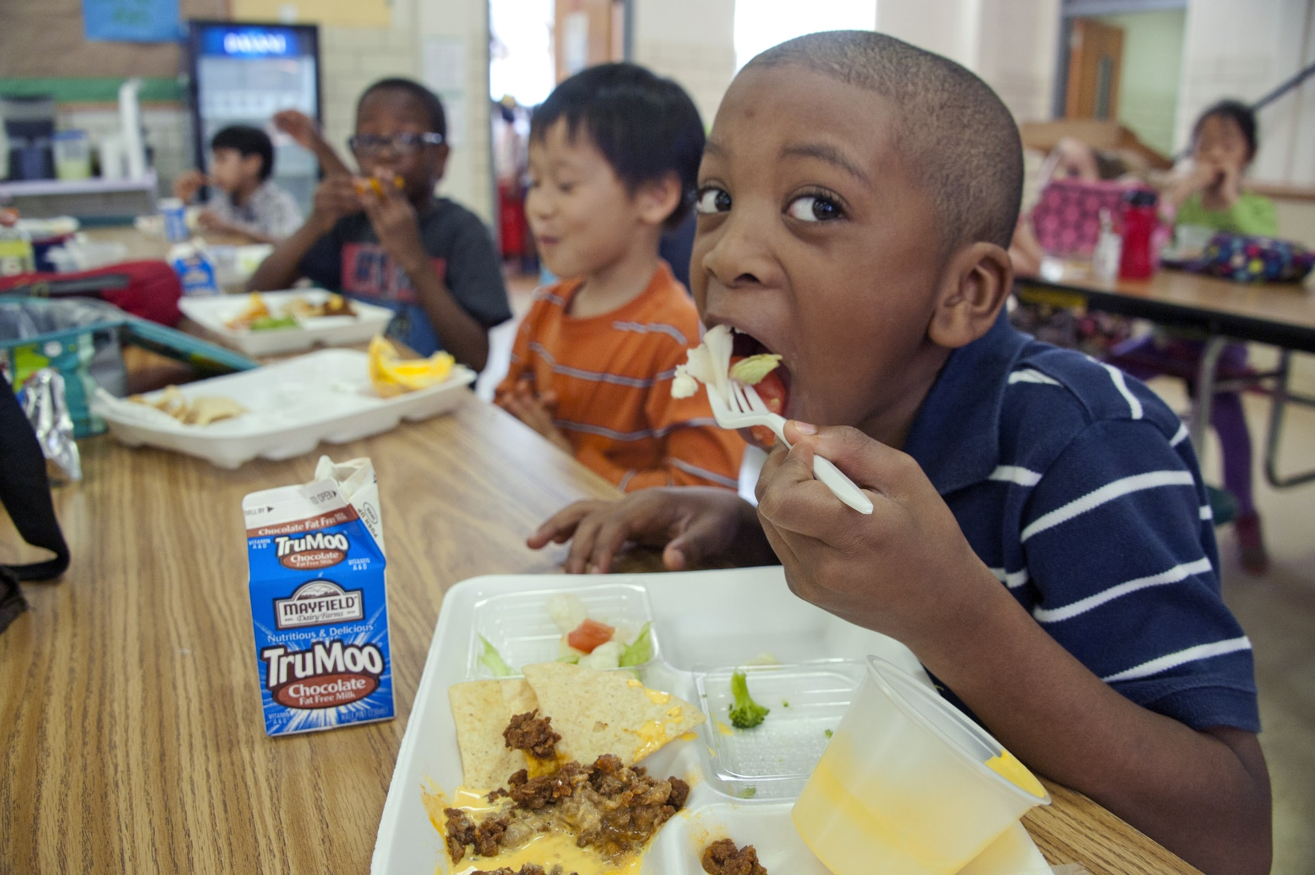 Meals are Free and to Grab-and-Go Return to Public Schools This Fall